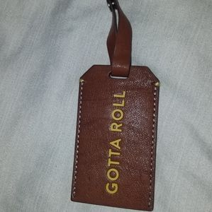 Fossil luggage tag